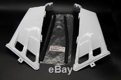 NEW Vito's Yamaha Banshee gas tank side covers plastic wrap 1987-2006 WHITE