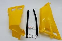 NEW Vito's Yamaha Banshee gas tank side covers plastic wrap 1987-2006 YELLOW