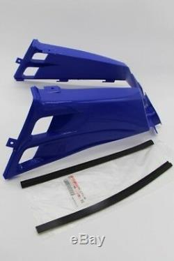 NEW Vito's Yamaha Banshee plastic gas tank side covers + grill 1987-2006 BLUE