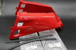 NEW Vito's Yamaha Banshee plastic gas tank side covers + grill 1987-2006 RED