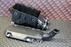 NEW Yamaha Banshee OEM factory stock airbox FULL KIT with Vito's filter + cage