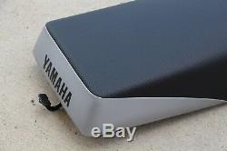 NEW Yamaha Banshee complete seat BLACK SILVER 2 tone cover latch foam 1987-2006
