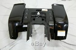 NEW Yamaha Banshee fenders front + rear plastic body 1987-2006 BLACK free ship