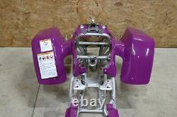 NEW Yamaha Banshee fenders front rear plastic body 1987-2006 BRIGHT PURPLE 1995