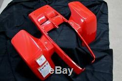 NEW Yamaha Banshee fenders front + rear plastic body 1987-2006 RED free ship