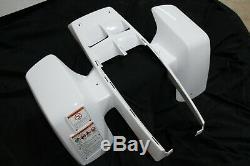 NEW Yamaha Banshee fenders front + rear plastic body 1987-2006 WHITE free ship