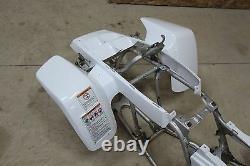 NEW factory OEM 1987-2006 Yamaha Banshee fenders plastic body WHITE front only