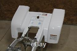 NEW factory OEM 1987-2006 Yamaha Banshee fenders plastic body WHITE rear only