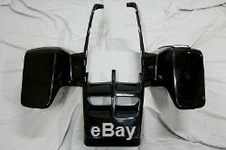 NEW front fenders Yamaha Banshee plastic body 1987-2006 BLACK front only