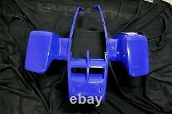 NEW front fenders Yamaha Banshee plastic body 1987-2006 BLUE front only