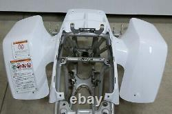 NEW front fenders Yamaha Banshee plastic body 1987-2006 WHITE front only