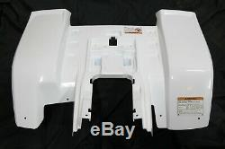NEW rear fenders Yamaha Banshee plastic body 1987-2006 WHITE back only