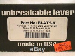 New ASV C5 front brake lever Yamaha 95-04 YFZ350 Banshee 03-06 Blaster YFZ450