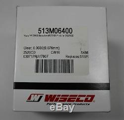 New Banshee Yamaha YFZ350 STD 64mm Cylinder with Wiseco Piston Gasket kit