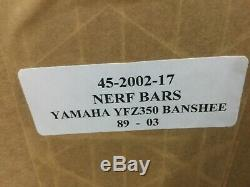 New Jardine Yamaha Banshee YFZ350 YFZ 350 Nerfbars Atv Nerf Bars MADE IN THE USA