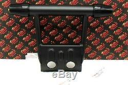 New Oem Factory Banshee 1987-2006 Front Atv Bumper Guard + Rubber End Caps Black