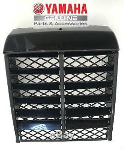 New Oem Yamaha Banshee Yfz350 Radiator Cover Grill Front Panel Black 1987 2006