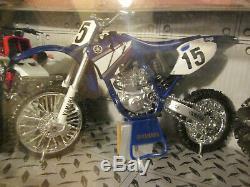 New-Ray 112 Xtreme Machines Ford Pickup Yamaha Motorcycle 350 Banshee ATV Quad