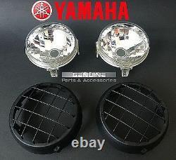 New Yamaha Banshee Warrior 350 Headlight Lens / Grilles Grills Guards 1987- 2006
