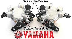 New Yamaha Banshee YFZ350 Front Brake Calipers / Sintered Metal Pads