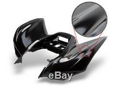 New Yamaha Banshee Yfz350 Black Standard Race Front Fender Plastic