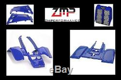 New Yamaha Banshee Yfz 350 Dark Blue Complete Plastic Fender Kit Full Set Body