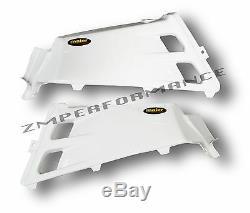 New Yamaha Yfz 350 Banshee White Plastic Gas Tank Cover Plastics