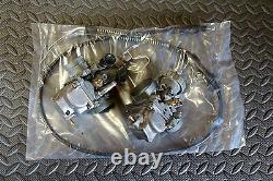 REBUILT Yamaha Banshee carbs carburators TORS REMOVED + NEW CABLE+ idle screws