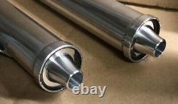 RED/BLUE/GOLD Billet Aluminum CNC Yamaha Banshee Toomey Exhaust Tips 350 T5 T6