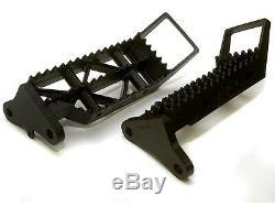 Roll Design IMS Foot Pegs Yamaha Banshee 350 Black All Years