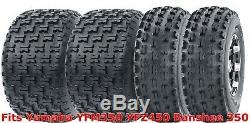 Set 4 WANDA Sport ATV Tires 21x7-10 & 20x10-9 Yamaha YFM350 YFZ450 Banshee 350