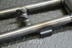 TYSON Banshee swingarm round extended chromoly rear carrier + front bearings +4