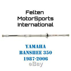Tusk Adjustable Width Racing Axle Yamaha Banshee Axl Banshe 350 YFM350 YFM 87-06