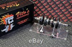 VITOS Yamaha Banshee crank crankshaft 4mm long rod stroker 115mm welded NEW
