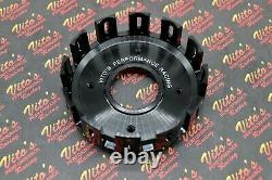 Vito's Performance BILLET CLUTCH BASKET Yamaha Banshee 1987-2006 + backer plate