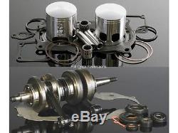 Wiseco Engine Rebuild Kit Yamaha Banshee YFZ 350 65.00mm Bore. 040 Crank/Piston
