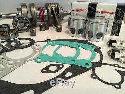 Wiseco Engine Rebuild Kit Yamaha Banshee YFZ 350 66.00mm Bore. 080 Crank/Piston