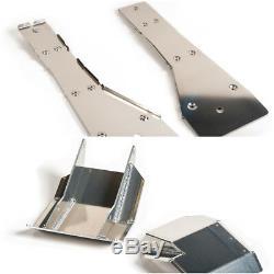 XFR Full Chassis Glide & Swing Arm Skid Plate Gaurd Combo YAMAHA BANSHEE 350