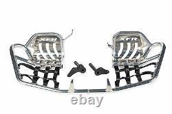 XFR Yamaha Banshee YFZ 350 Pro Peg FOOT PEG Nerf bars W HEEL GUARD 87-06 PS203