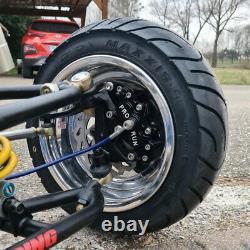 Yamaha 350 Banshee 6 pistons brake calipers / Etriers de freins 6 pistons