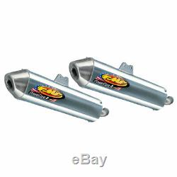 Yamaha 350 Banshee FMF Complete Fatty Gold Exhaust Pipe Silencers Power Core 2