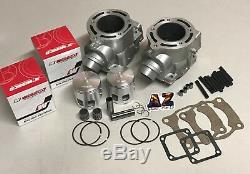 Yamaha Banshee 350 RAW 64 Cylinders Top End Rebuild Kit Wiseco Pistons Gasket