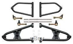 Yamaha Banshee A Arms +2 +1 Chromoly Fully Adjustable Alba extended a-arms