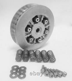 Yamaha Banshee Aluminium Clutch Basket / Boss Kit Titanium / Pressure Plate