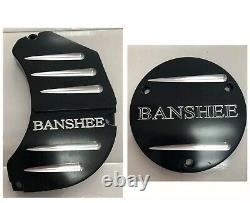 Yamaha Banshee Clutch Cover Insert And Water Pump Anodized