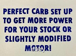 Yamaha Banshee Stock Carb Kit Complete Intake Air Filter 26 mil Carbs NO TORS