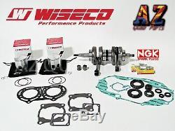 Yamaha Banshee WISECO Crank Crankshaft 64mm Pistons Rods Seals Gasket NGK Plugs