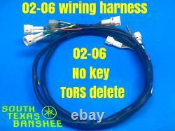 Yamaha Banshee Wiring Harness NO KEY NO TORS Please read description Fits 02-06