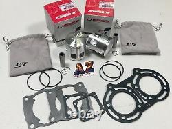 Yamaha Banshee YFZ 350 64.25mm Wiseco Pro Lite Pistons Piston Set & Gaskets Kit