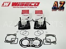 Yamaha Banshee YFZ 350 64.50mm Wiseco Pro Lite Pistons Piston Set & Gaskets Kit
